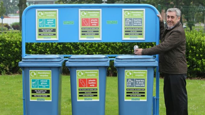 New recycling banks trialled for Hambleton events